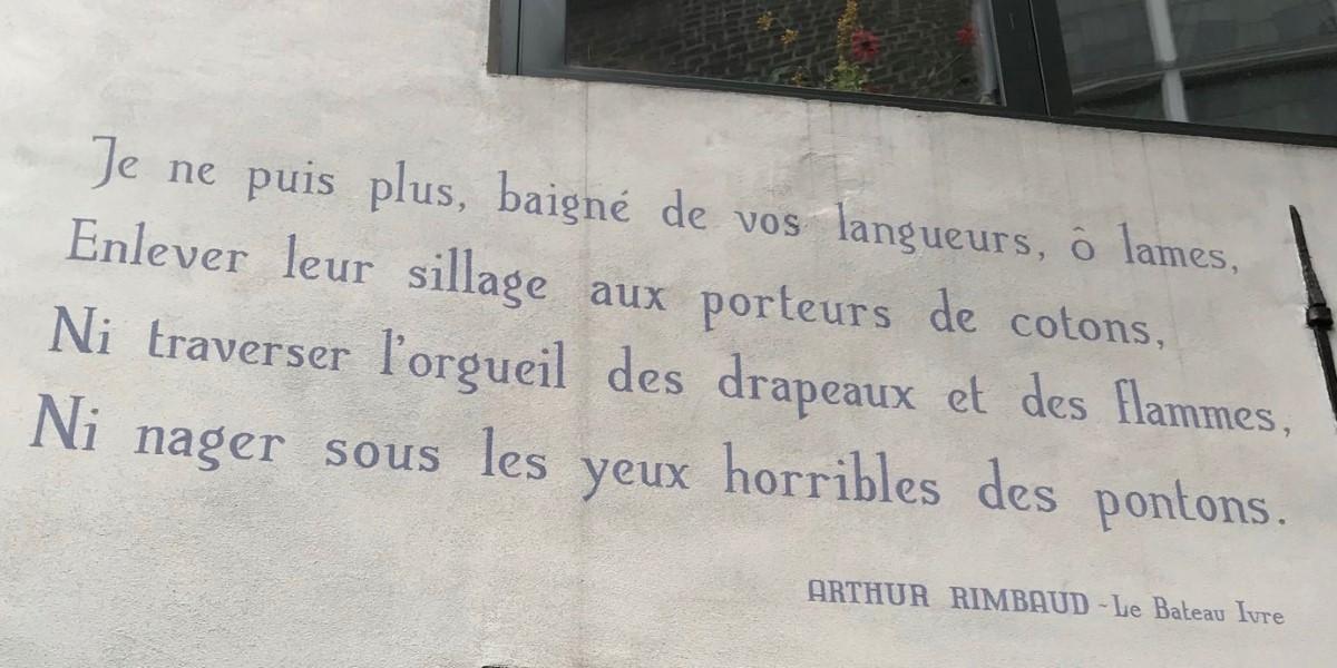 Poëzie, gedicht, Arthur Rimbaud, Leiden