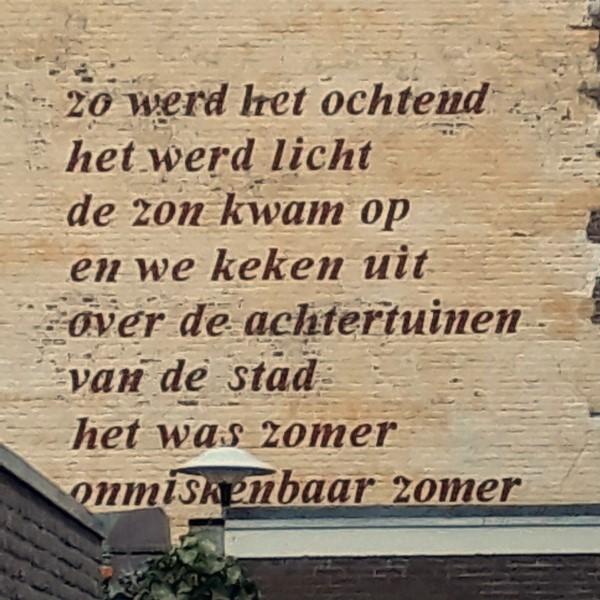 Poëzie, gedicht, Zijschrift, Utrecht