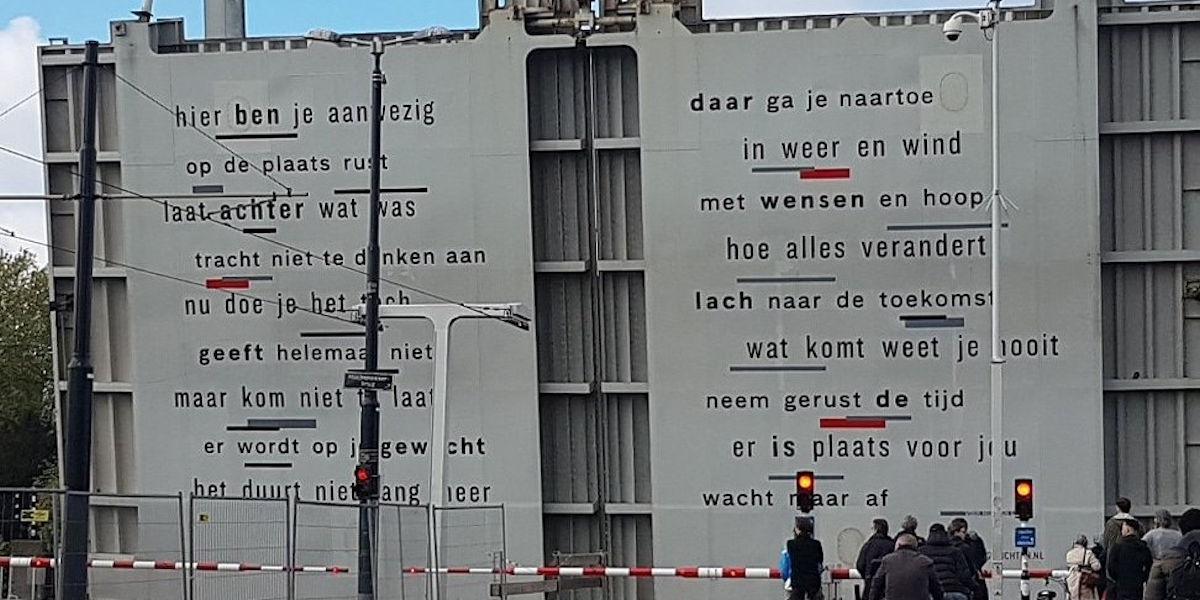 Poëzie, gedicht, Daniël Dee, Rotterdam