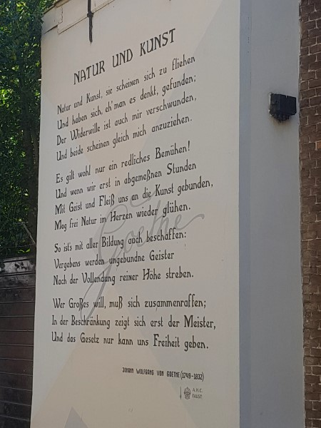 Poëzie, gedicht, Johann wolfgang Goethe, Leiden