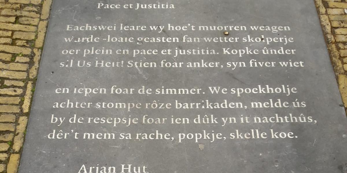 Poëzie, gedicht, Arjan Hut, Leeuwarden