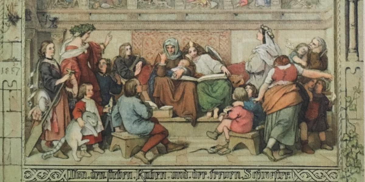 Moritz von Schwind, Sieben Raben