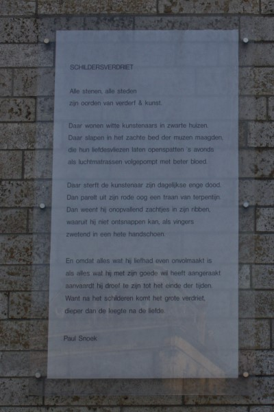 Poëzie, gedicht, Paul Snoek, Gent