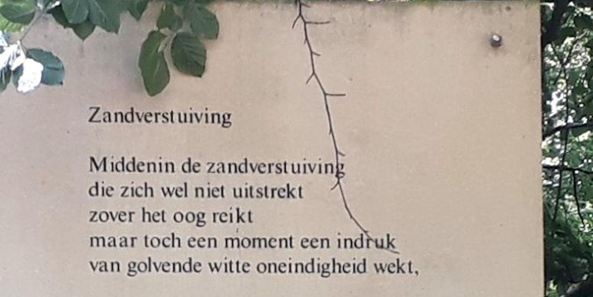 Poëzie, gedicht, Hulshorst, Hans Andreus