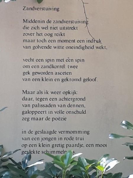 Poëzie, gedicht, Hans Andreus, Hulshorst