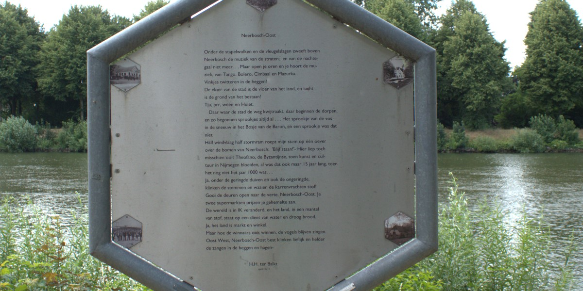 Poëzie, gedicht, H.H. ter Balkt, Nijmegen