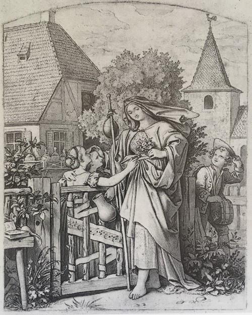 Moritz von Schwind, Pfarrhaus zu Cleversulzbach