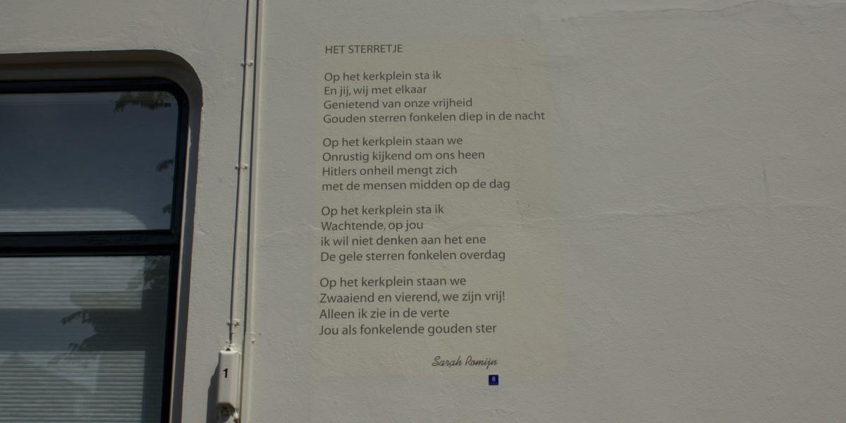 Poëzie, gedicht, Sarah Romijn, Gorinchem