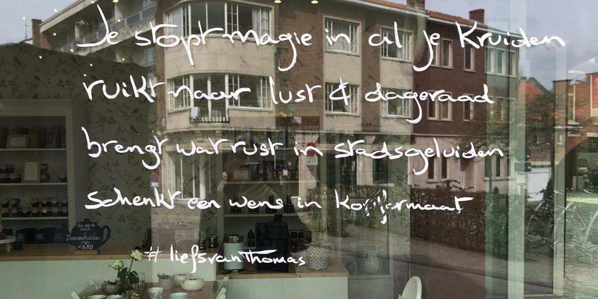Poëzie, gedicht, Thomas Goyvaerts, Diest