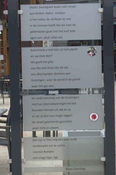 Poëzie, gedicht, Bram Geerlings, Enschede, Willem Wilminkplein