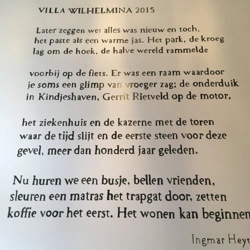 Poëzie, gedicht, Ingmar Heytze, Utreht