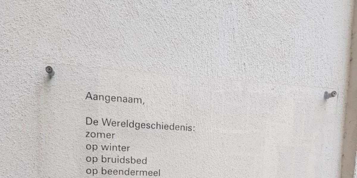 Poëzie, gedicht, Alied van der Meer, Deventer