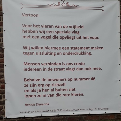 Poëzie, gedicht, Bennie Sieverink, Doesburg