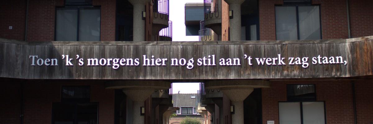 Poëzie, dichtregels, P.N. van Eyck, Leiden