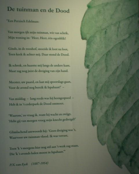 Poëzie, gedicht, P.N. van Eyck, Leiden