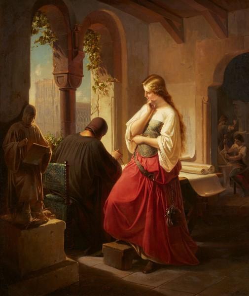 Ludwig Zahn, Sabina von Steinbach