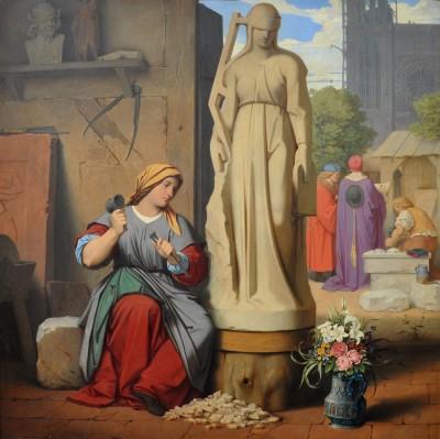 Moritz von Schwind, Sabina von Steinbach