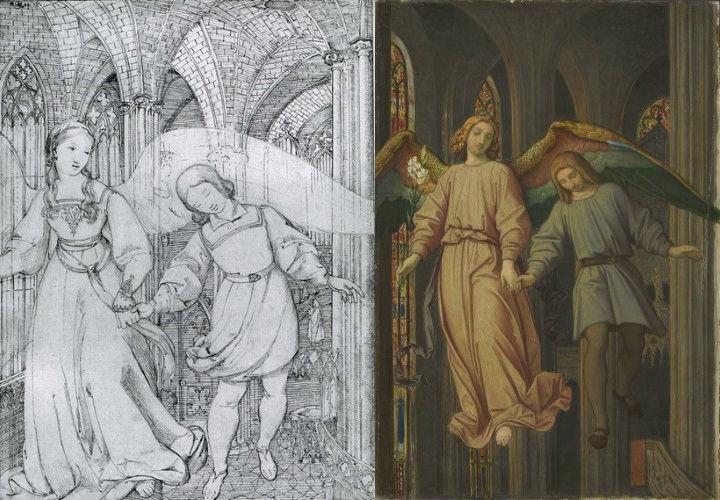 Moritz von Schwind, Erwin von Steinbach