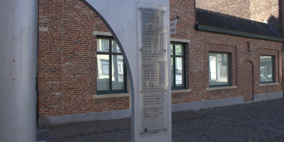 Poëzie, gedicht, Edmond Boonen, Gent