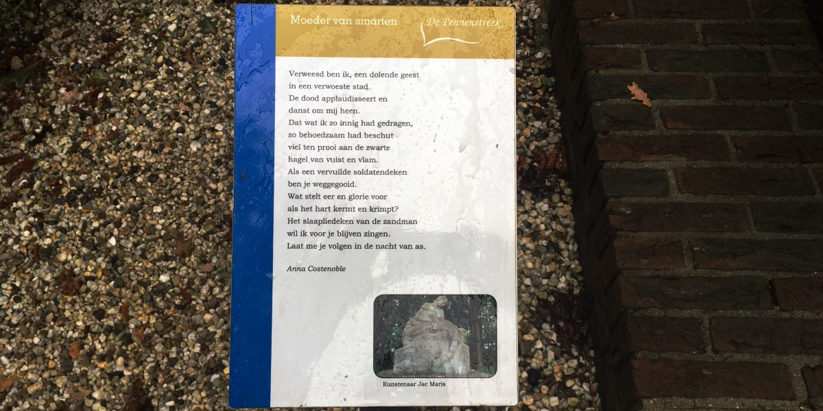 Poëzie, gedicht, Anna Costenoble, Heumen