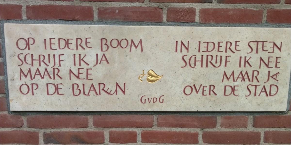 Poëzie, gedicht, Guillaume van der Graft, Utrecht