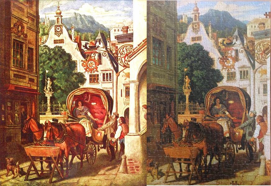 Moritz von Schwind, Die Hochzeitsreise