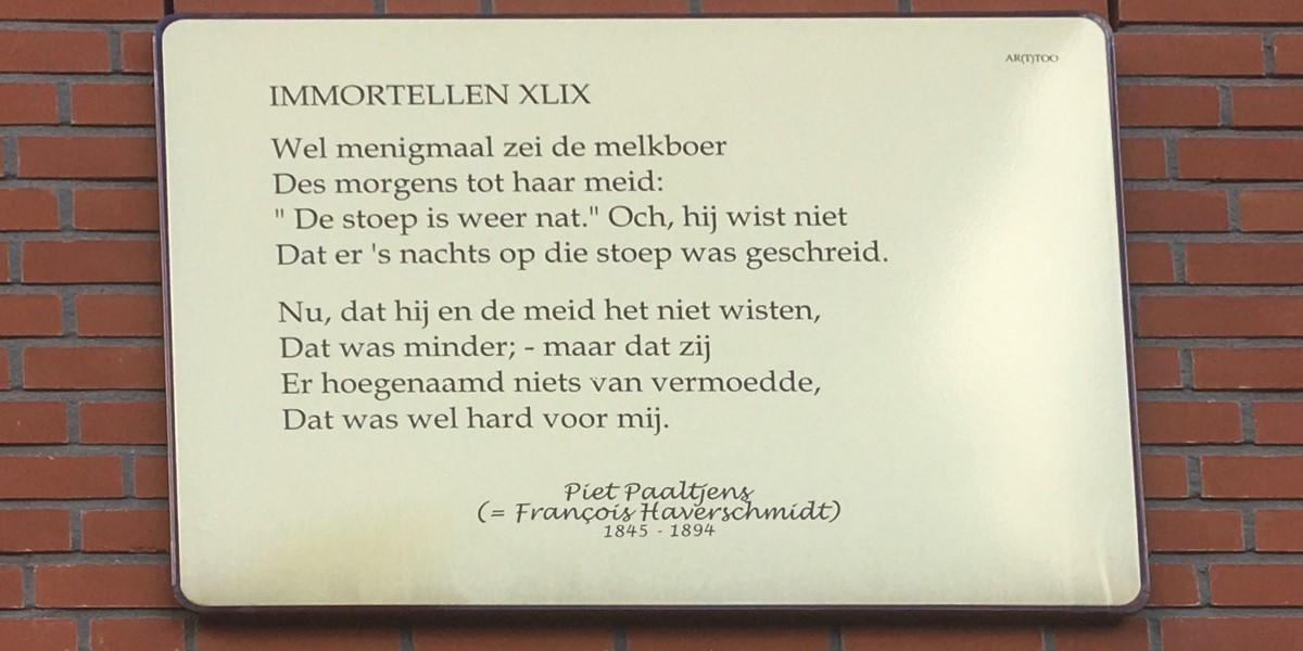 Poëzie, gedicht, Piet Paaltjens, Rotterdam