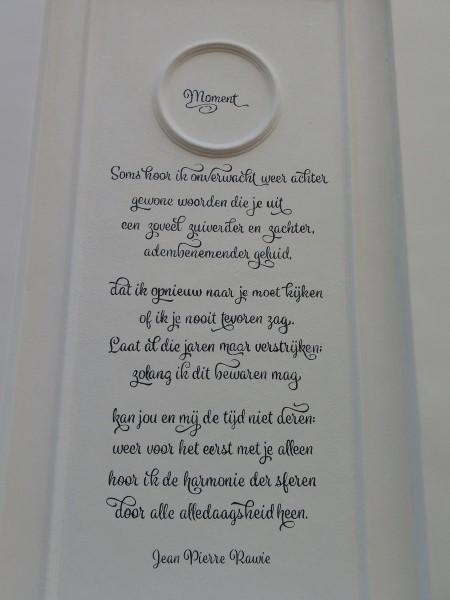 Poëzie, gedicht, Utrecht, Jean Pierre Rawie