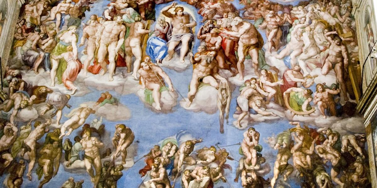 Michelangelo, Daniele da Volterra, Sixtijnse kapel, Rome