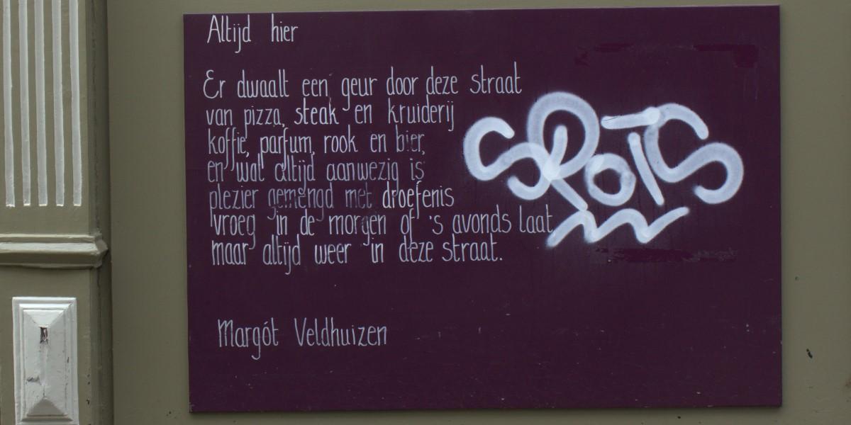 Poézie, gedicht, Margót Veldhuizen, Enschede
