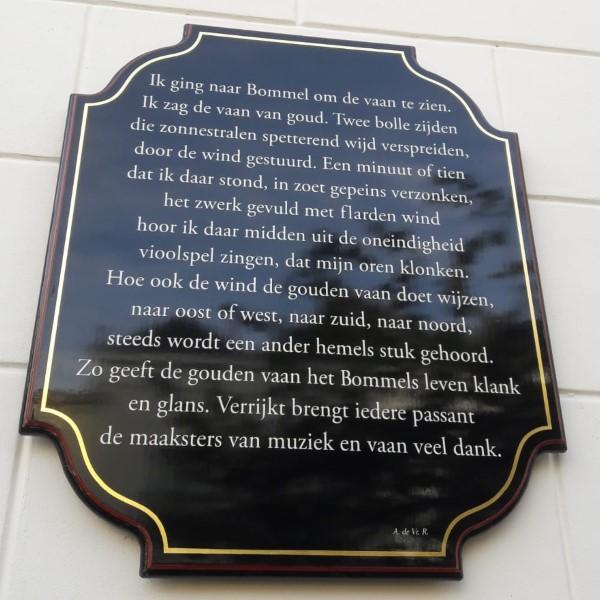 Poëzie, gedicht, Arnold de Vries Robbé, Zaltbommel
