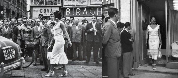 Mario de Biasi, Gli Italiani si voltano