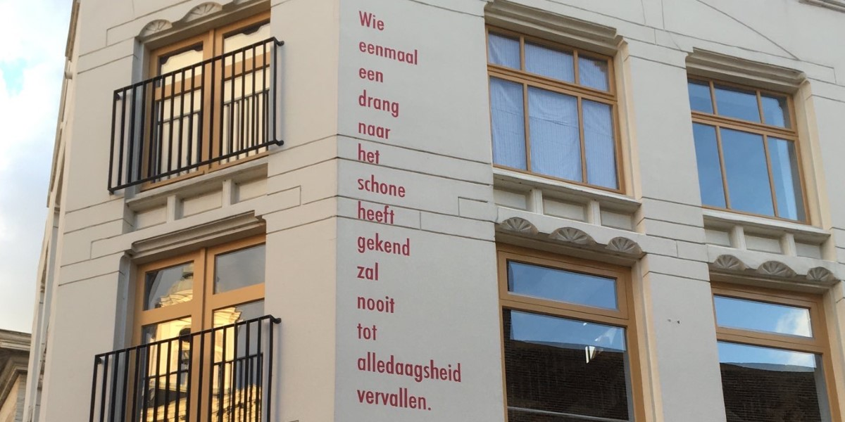 Poëzie, dichterlijke gedachte, Willem Elsschot, Schiedam