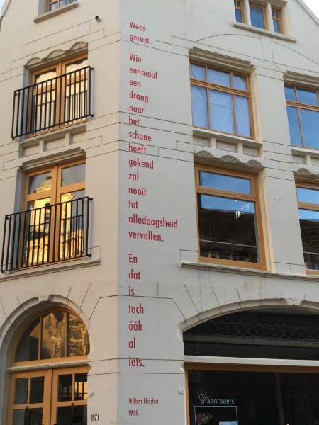 Poëzie, Willem Elsschot, Schiedam