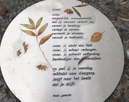 Poëzie, gedicht, koos Geerds, Zwolle