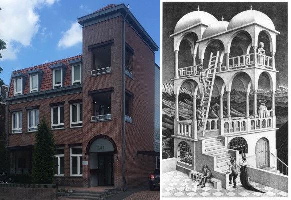 Woonhuis, Nijmegen, M.S. Escher