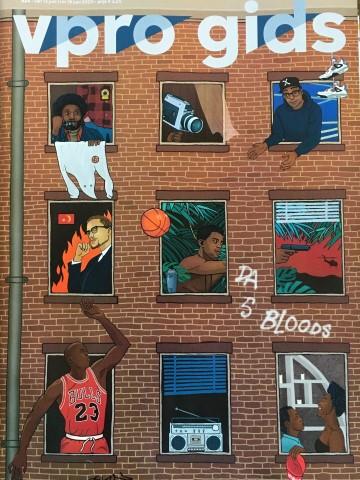 Dwarskijken, basketball, Gees Voorhees, Spike Lee