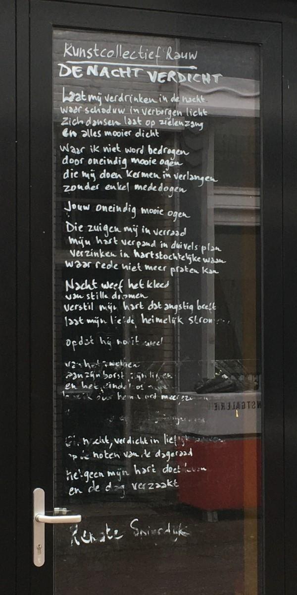 Poëzie, gedicht, Renate Spierdijk, Arnhem