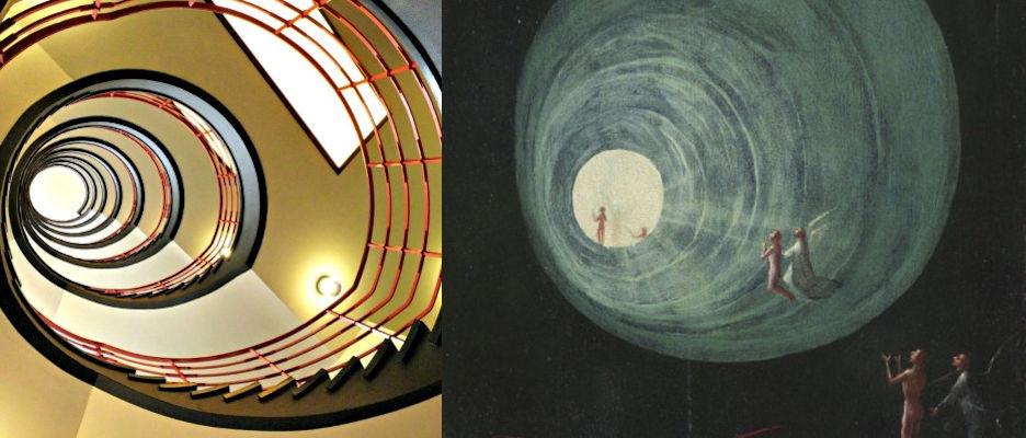 Sprinkenhof, Hamburg, Hiëronymus Bosch, Tenhemelopneming van de zaligen