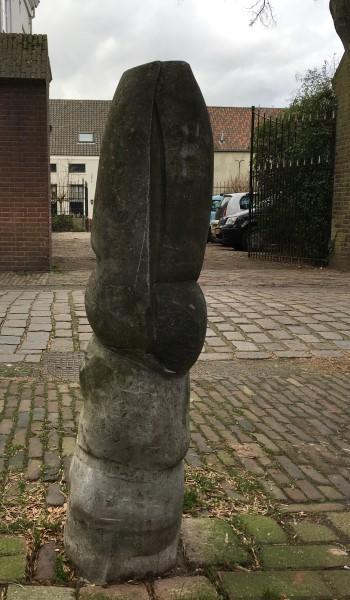 Oscar Goedhart, Nijmegen, afsluitpaal