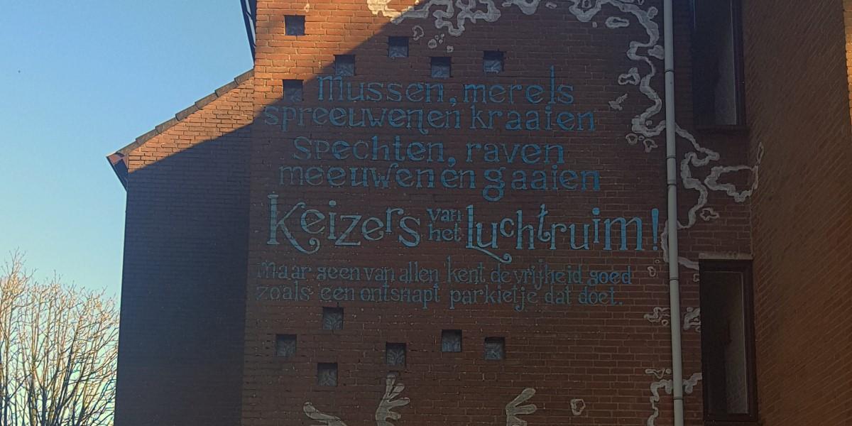 Poëzie, gedicht, Lisette Spee, Breda