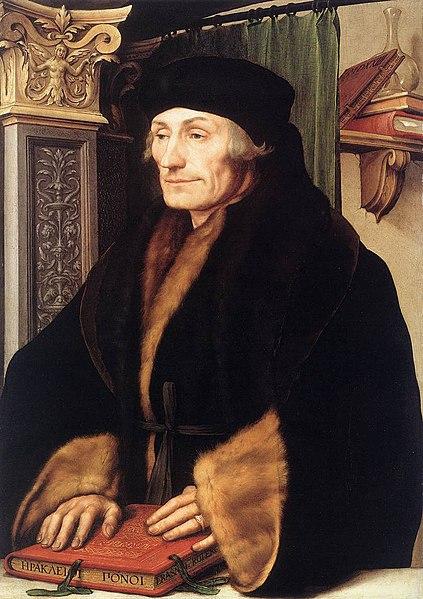 Desiderius Erasmus, Hans Holbein