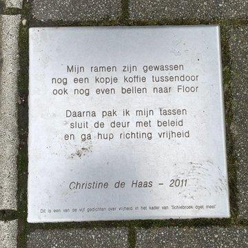 Poëzie, gedicht, Christine de Haas, Rotterdam