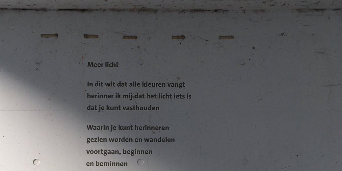 Poëzie, gedicht, Ro van Doesburg, Gorinchem