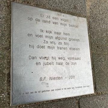 Poézie, gedicht, B.F. Niesten, Rotterdam