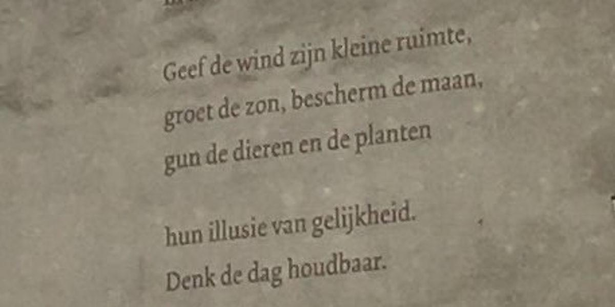 Poëzie, gedicht, K.L. Poll, Den Haag