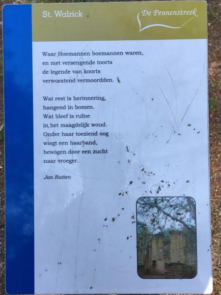Poëzie, gedicht, Jan Rutten, Overasselt