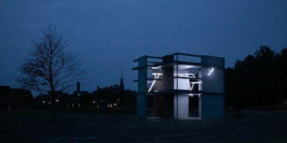 Giny Vos, De verlichte kamer, Limospark, Nijmegen