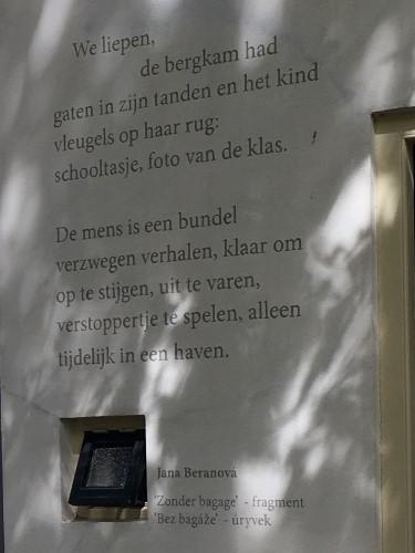 Poëzie, gedicht, Jana Beranová, Naarden