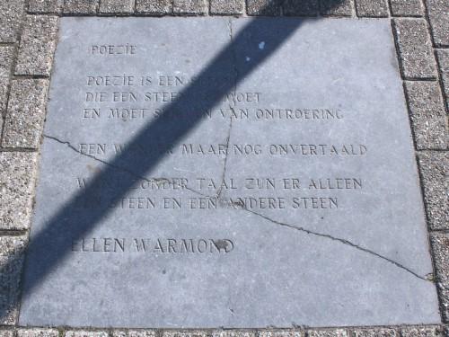 Poëzie, gedicht, Ellen Warmond, Tilburg